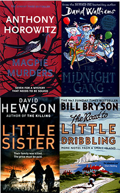 Audiobook covers